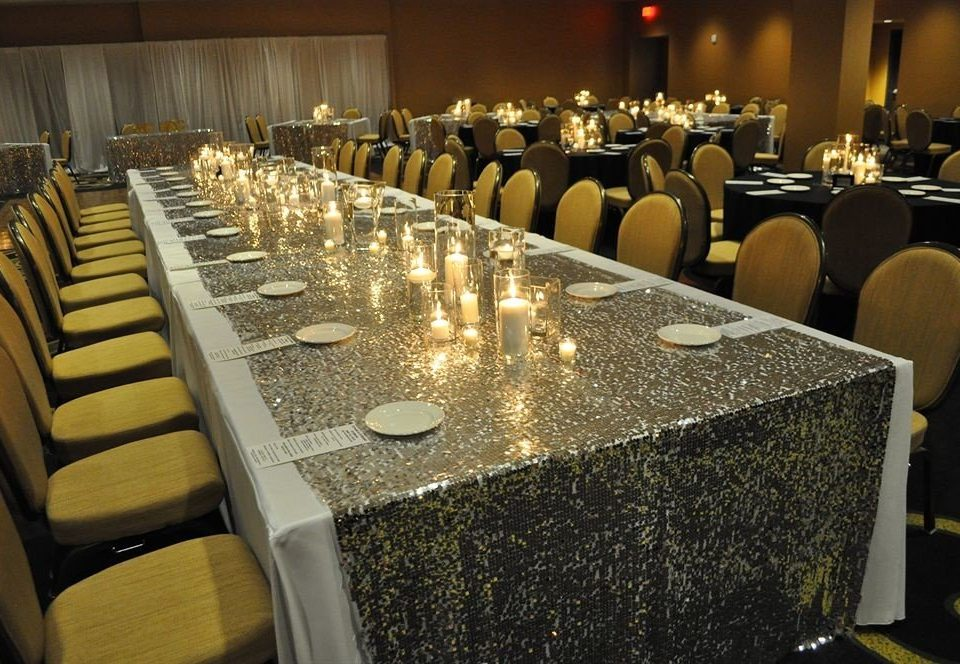 function hall auditorium banquet conference hall convention center ballroom convention lined Bar