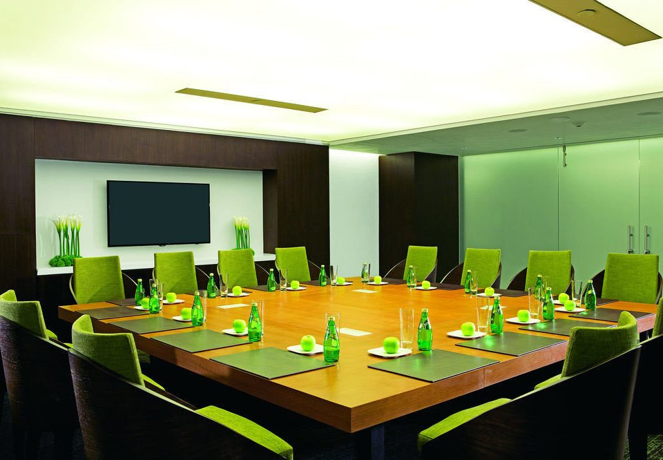 green conference hall function hall auditorium counter meeting convention center stainless Bar desk