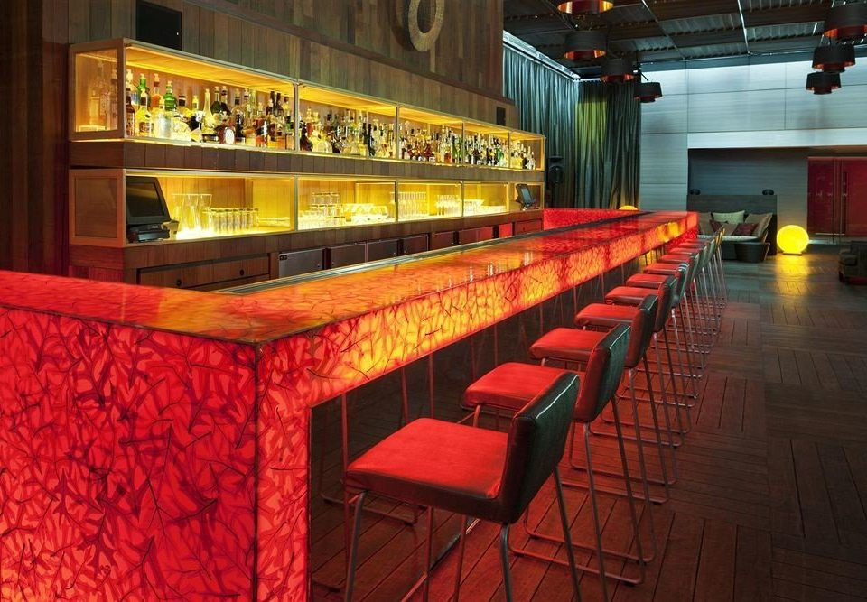 red auditorium Bar stage restaurant
