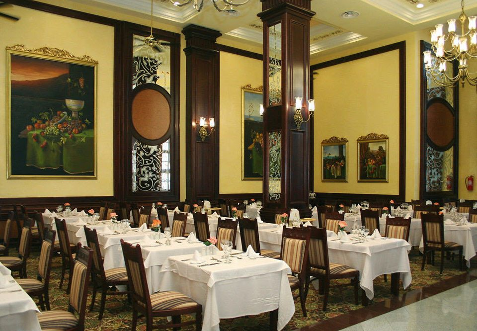 function hall restaurant ballroom long fancy Bar