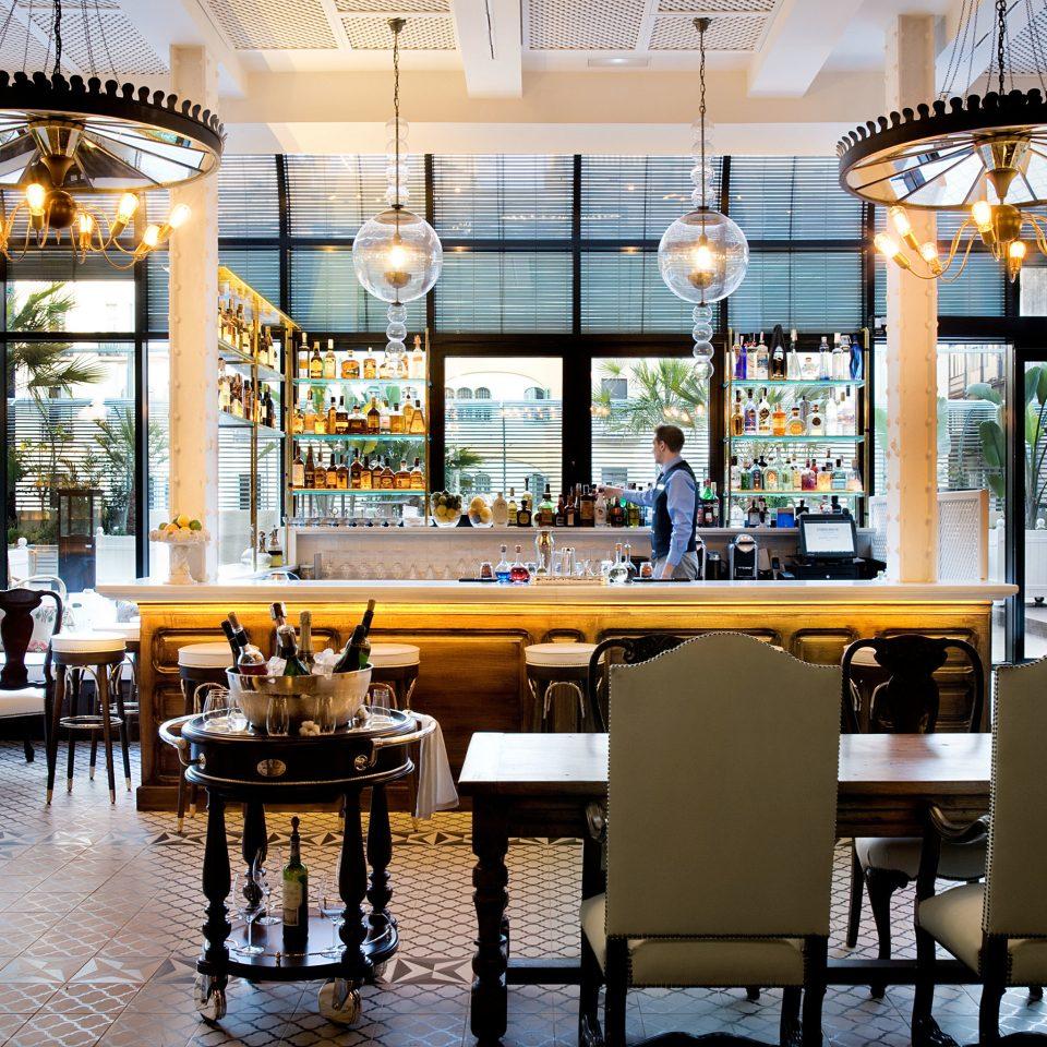 Barcelona Hotels Spain chair restaurant home Bar Resort Lobby condominium