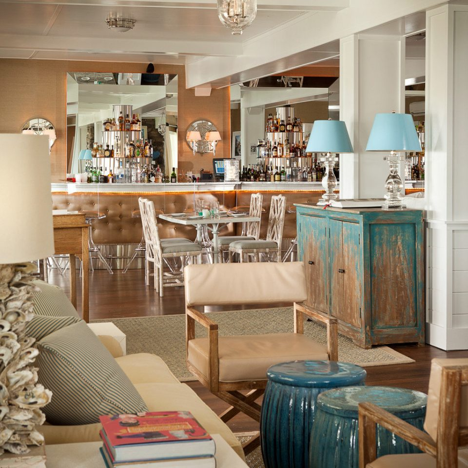 Bar Beach Beachfront Boutique Drink Lounge property living room home cabinetry Kitchen cottage