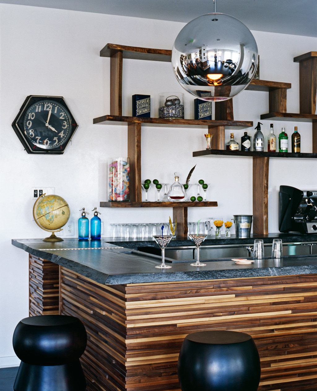 Bar Beach Boutique Drink Hip Party living room home hardwood wooden lighting shelf cabinetry Kitchen