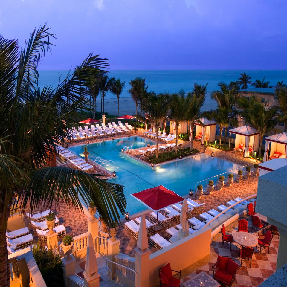 Bar Deck Lounge Patio Pool Tropical Waterfront tree sky leisure Resort swimming pool palm caribbean resort town Beach Villa lined colorful