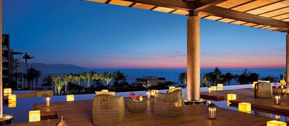 Bar Dining Drink Eat Elegant Hip Luxury Scenic views sky leisure property Resort Villa Beach hacienda