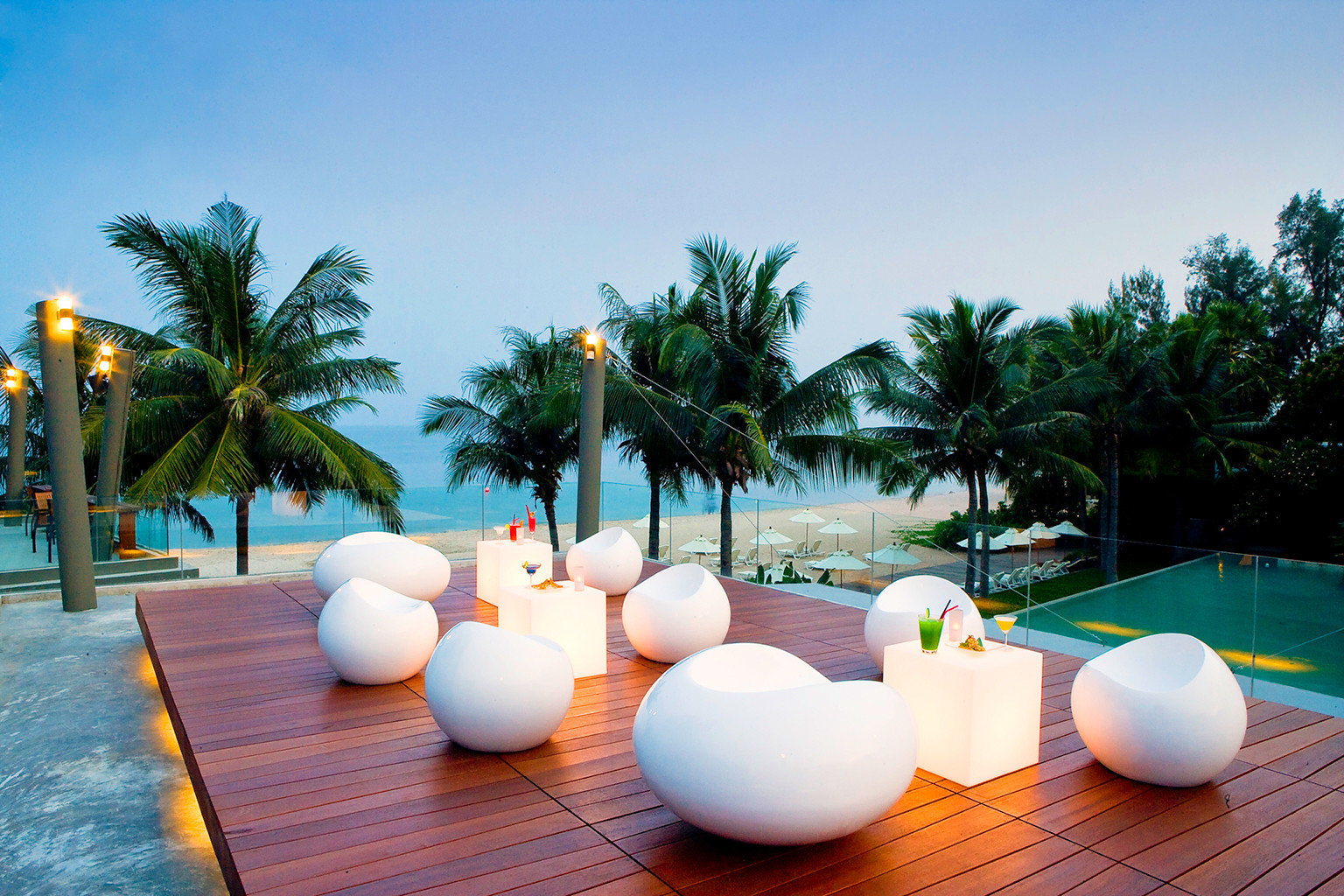 Bar Beach Family Grounds Modern Resort tree sky leisure swimming pool arecales Villa