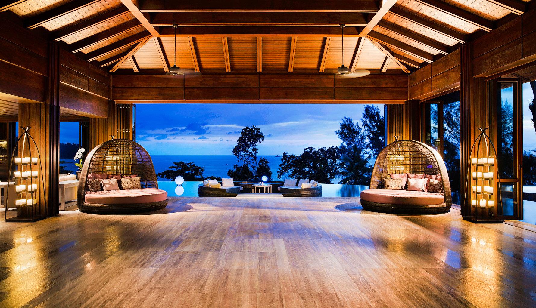 Bar Beach Family Lounge Modern Resort building home Lobby living room mansion