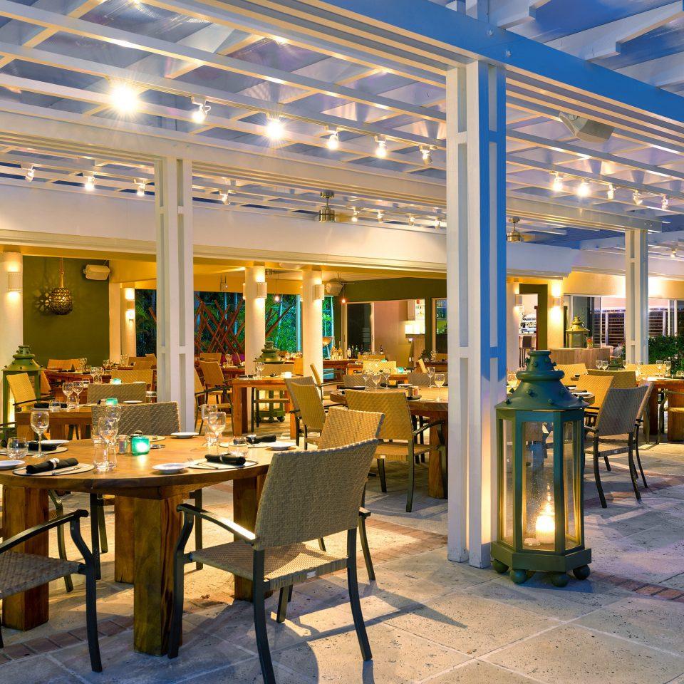 Beachfront Boutique Luxury Resort chair restaurant Bar Dining convention center