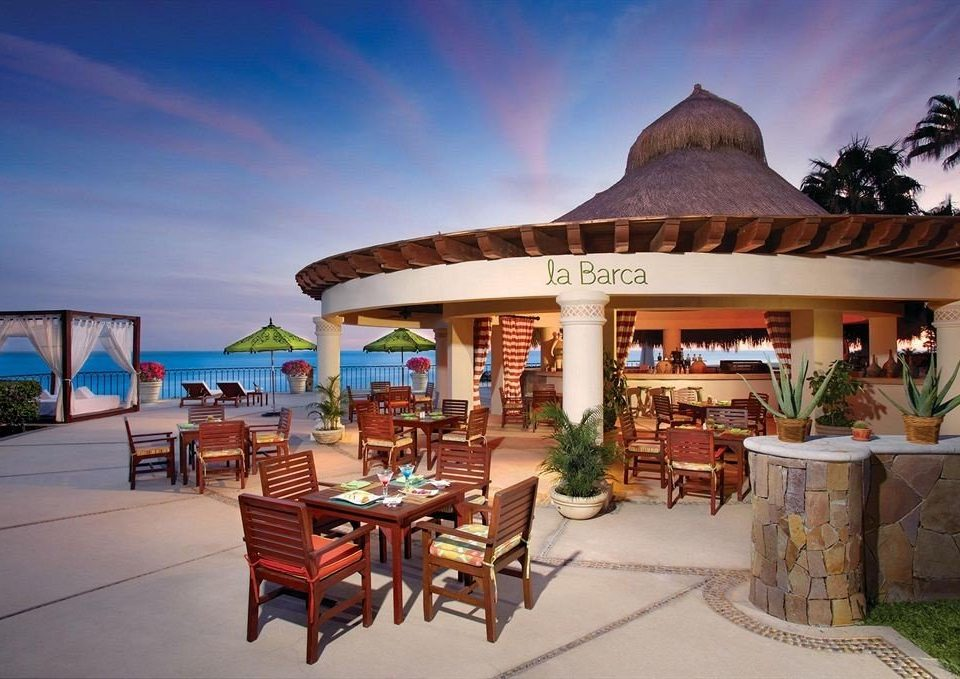 Bar Beachfront Dining Drink Eat Luxury chair property leisure Resort Villa hacienda restaurant