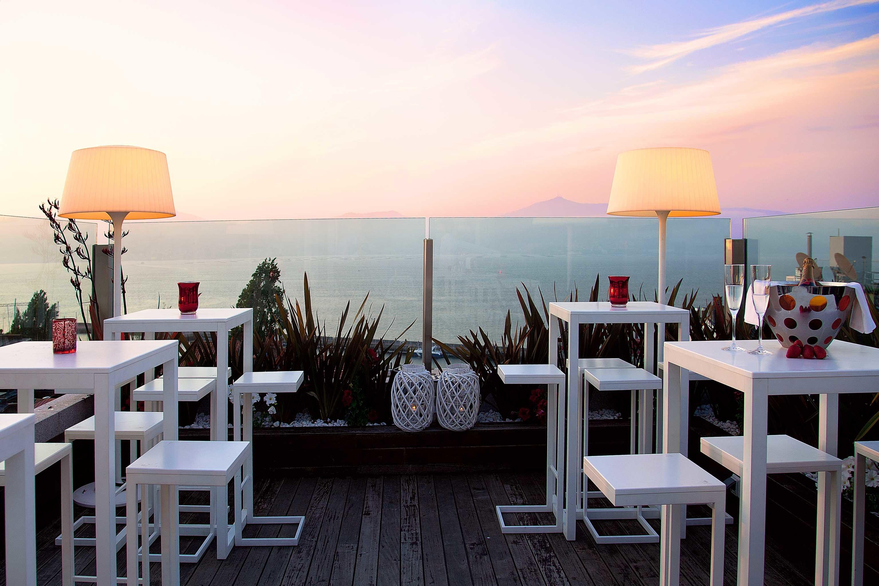 Bar Beachfront Dining Drink Eat Lounge Luxury sky chair restaurant set dining table