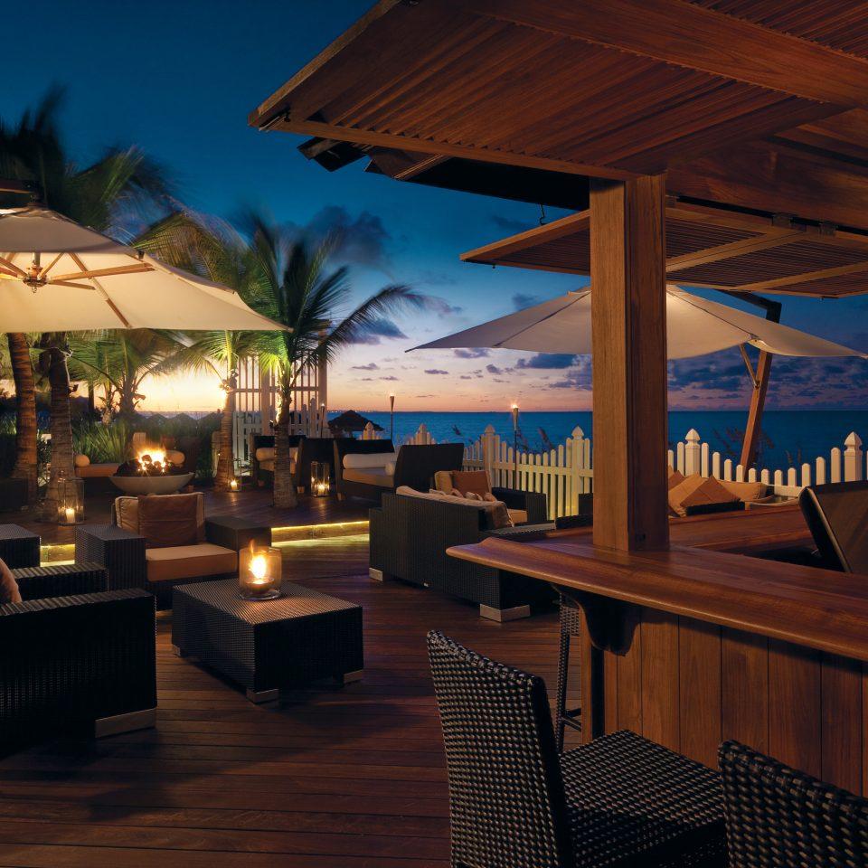 Beachfront Family Nightlife Resort chair restaurant lighting Bar