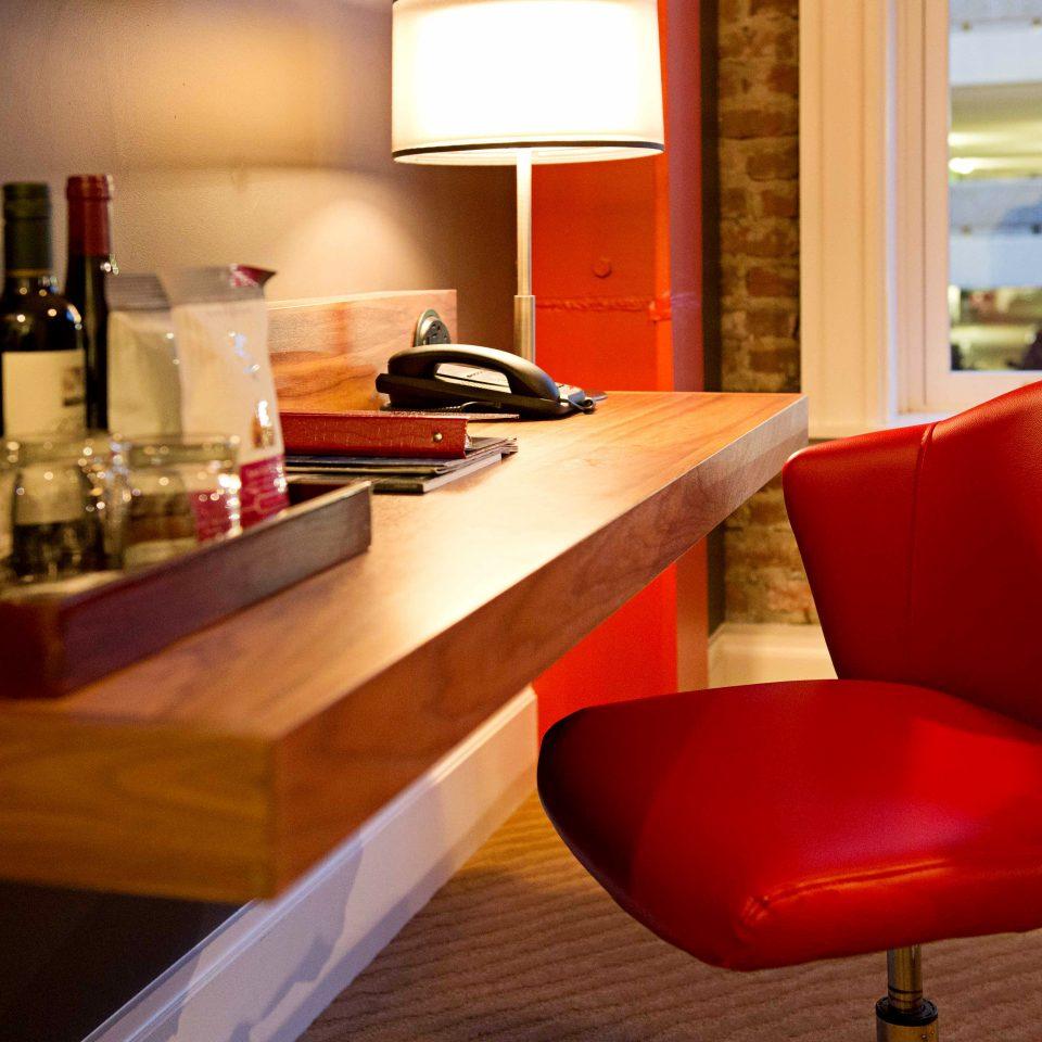 Bedroom Business City Hip red restaurant Bar