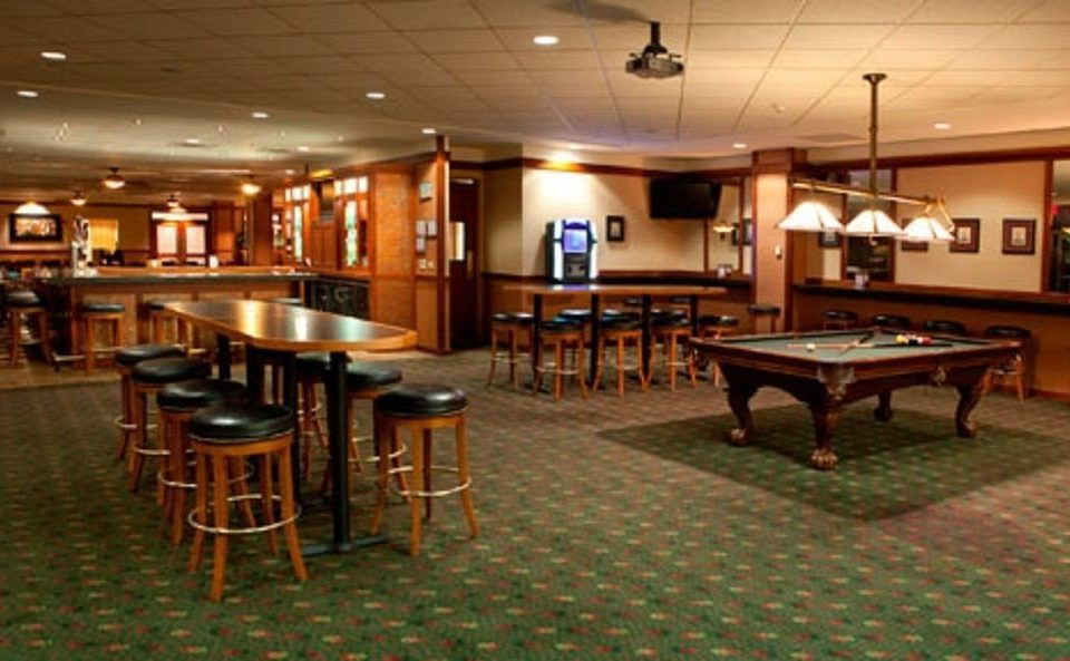 recreation room billiard room Bar function hall