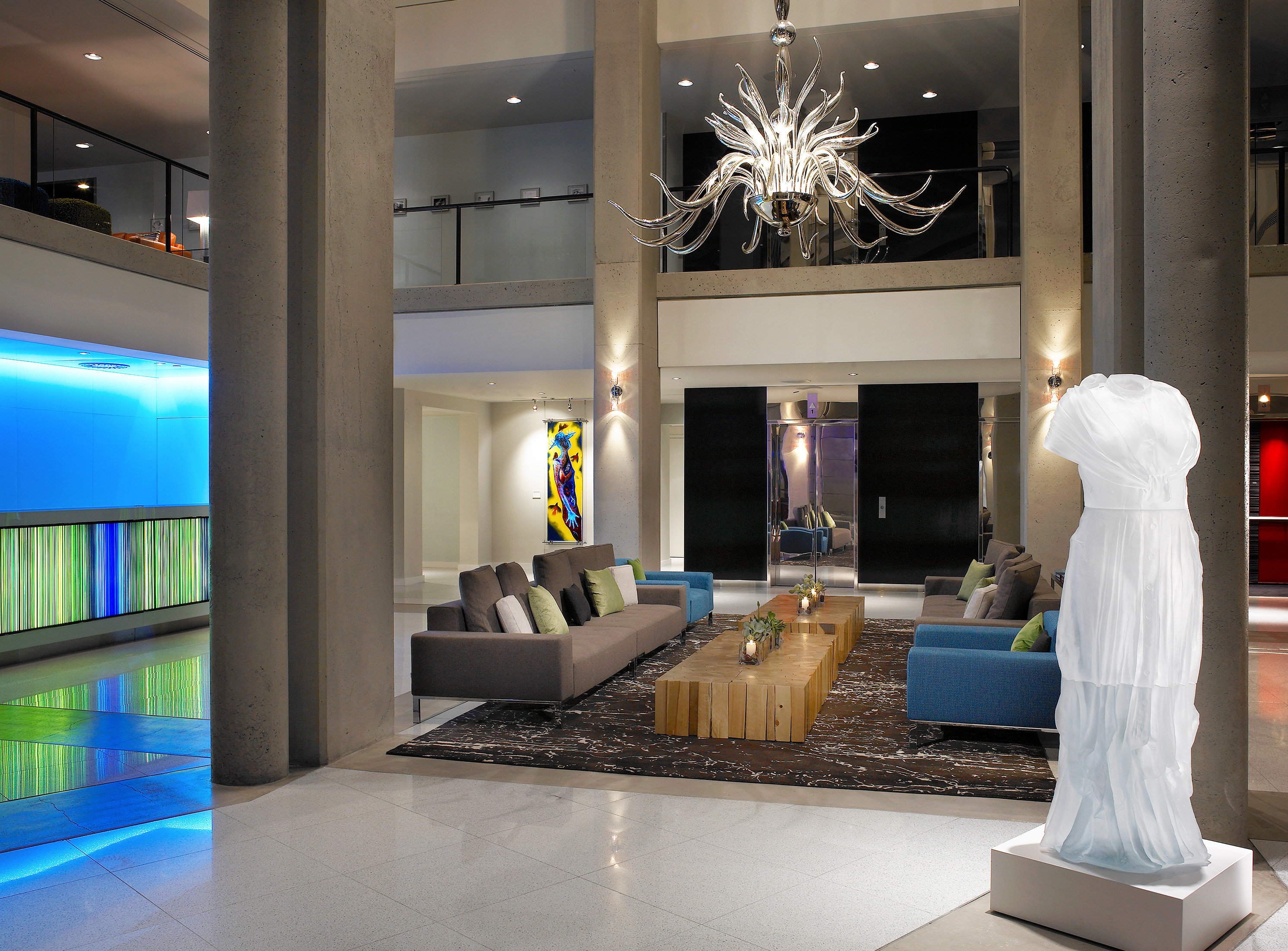 Bar Boutique Budget City Hip Lobby Lounge Modern lighting home living room tourist attraction