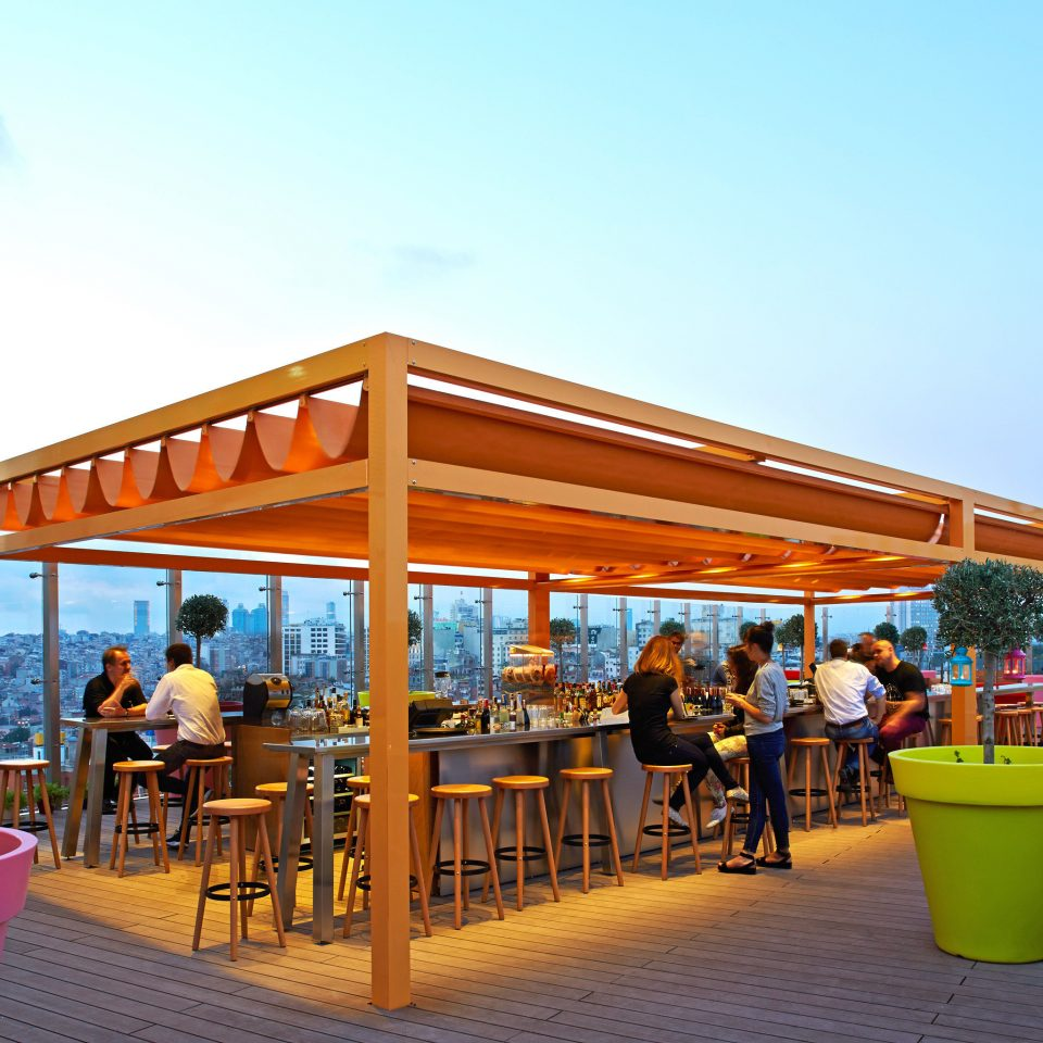 Bar Boutique Budget City Hip Party Rooftop sky chair leisure Resort restaurant plaza