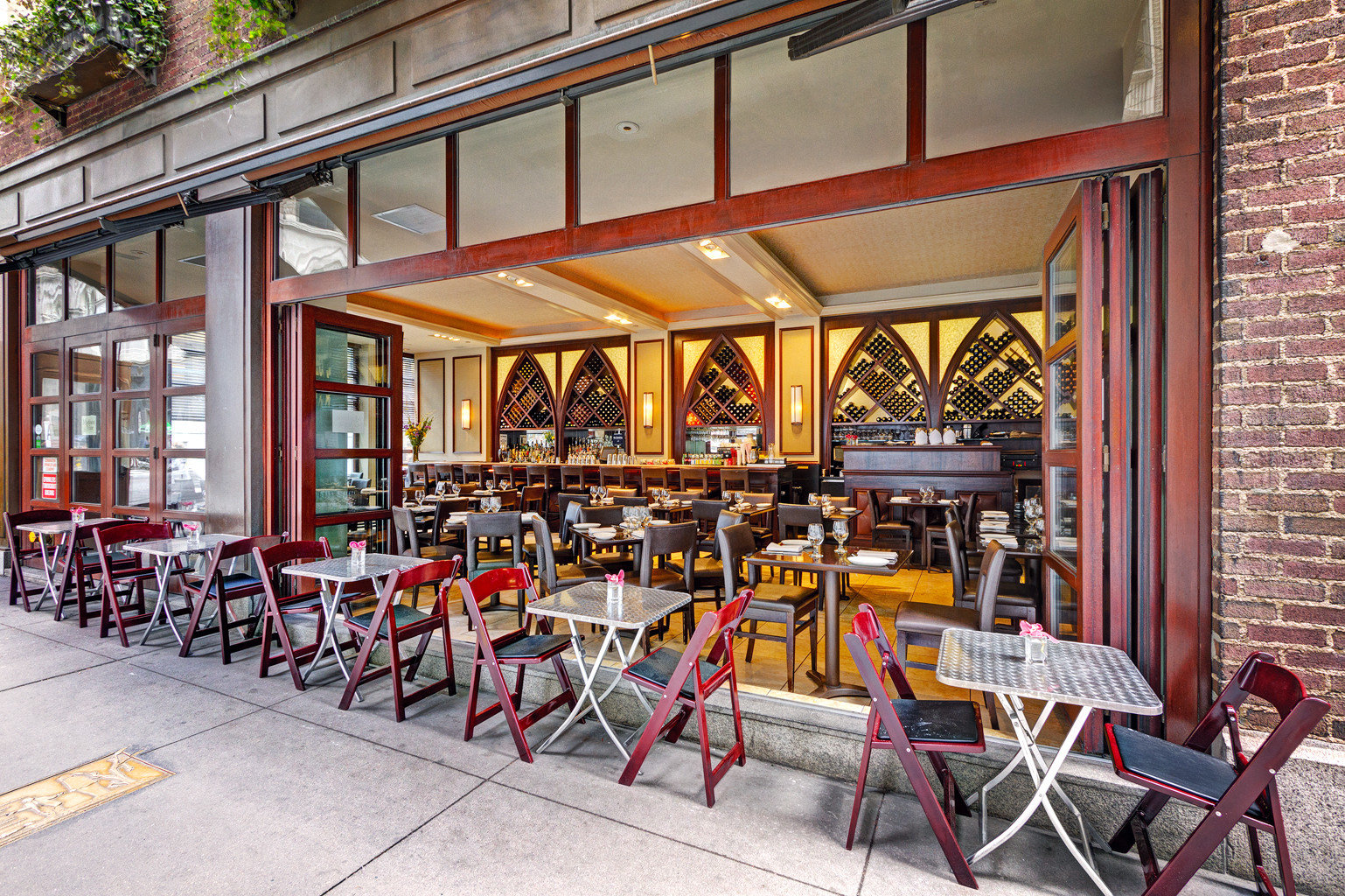 Boutique Business City Dining Drink Eat Modern building chair restaurant Bar