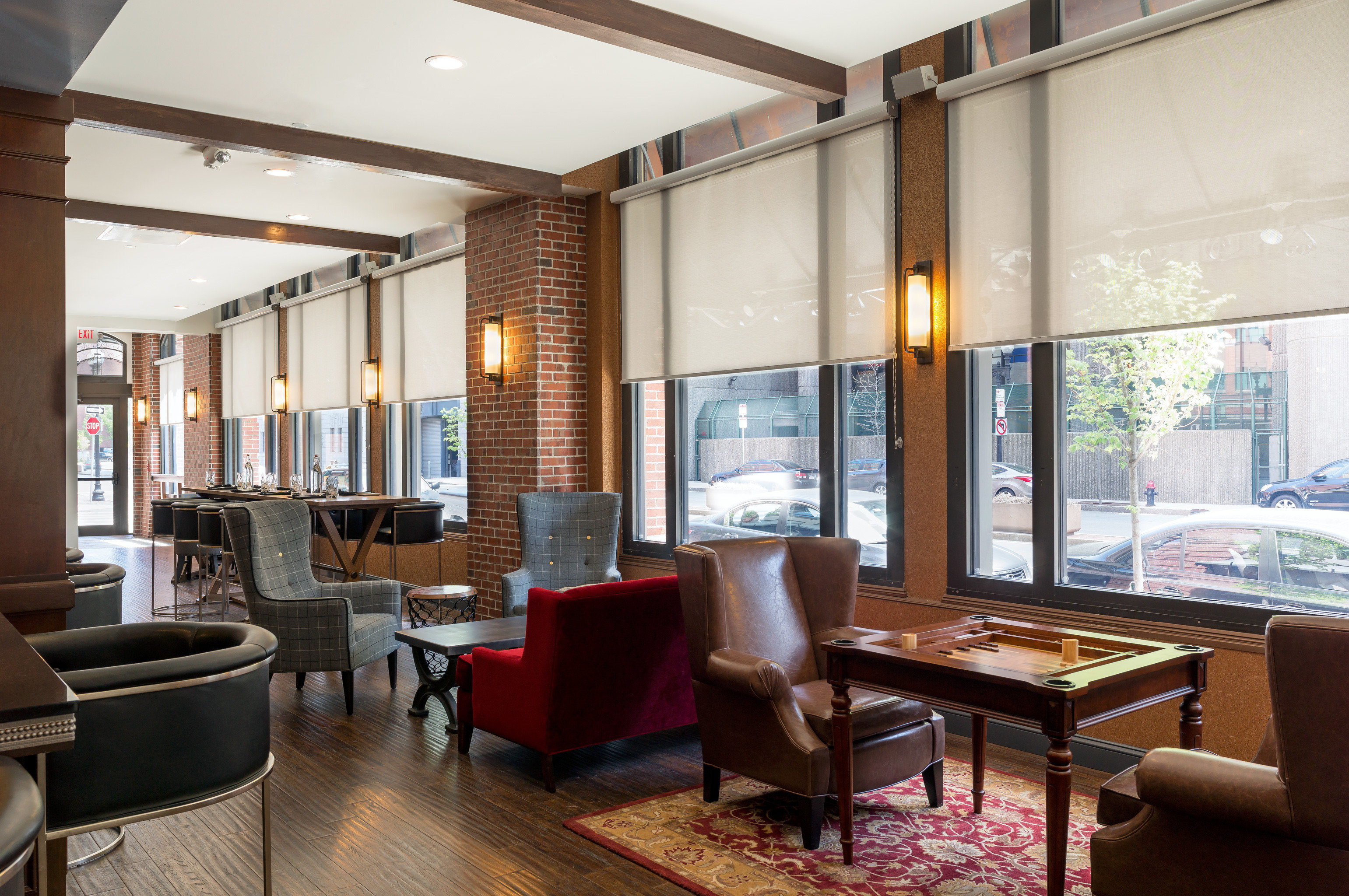 Bar Boutique City Classic Dining Drink Eat Lounge property condominium living room Lobby home Suite