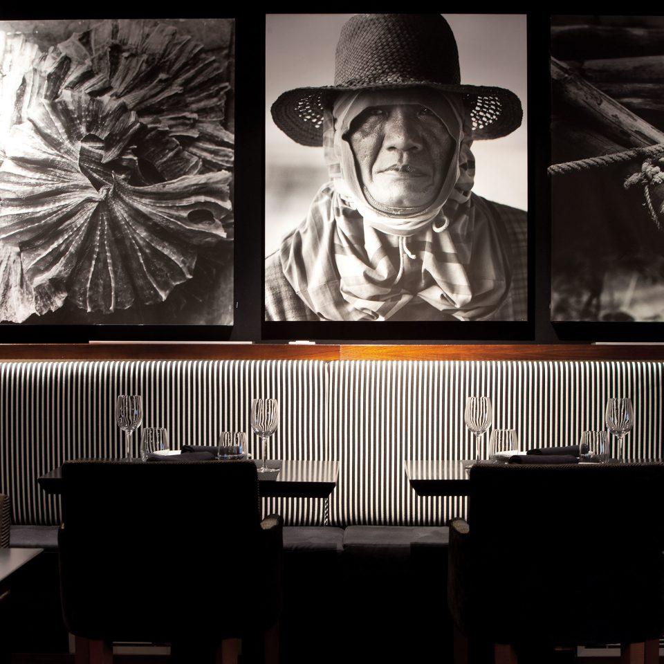 Bar Boutique City Dining Drink Eat Modern lighting set