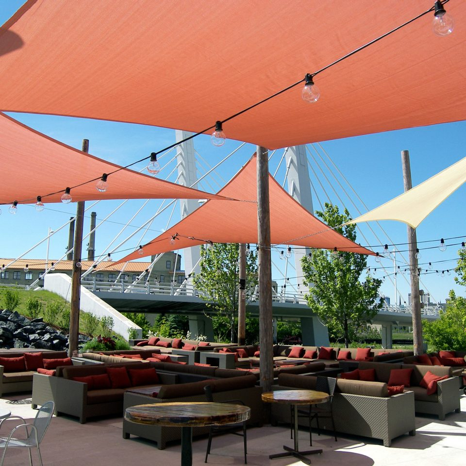 Bar Boutique City Dining Drink Eat Exterior Lounge Patio tree restaurant canopy