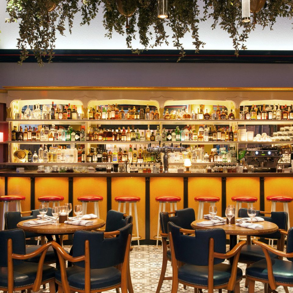 Bar Boutique City Dining Drink Eat Hip chair restaurant café set