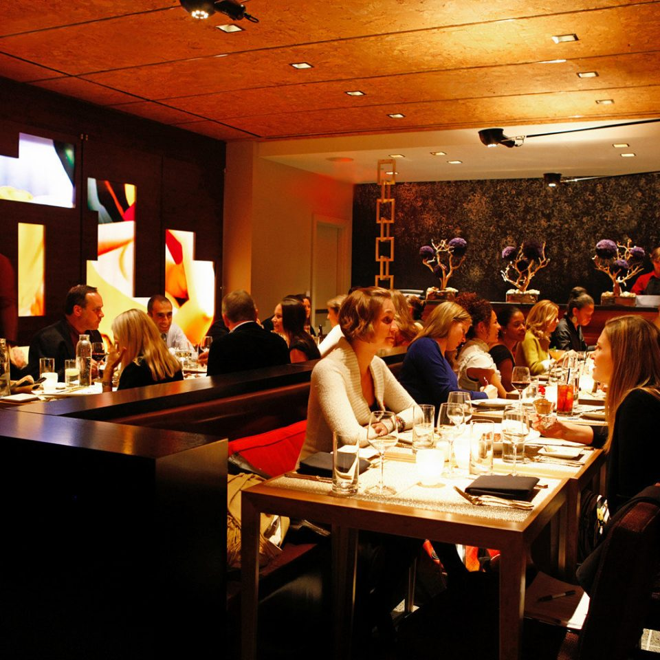Bar Boutique City Dining Drink Eat Hip Nightlife restaurant dinner Island dining table