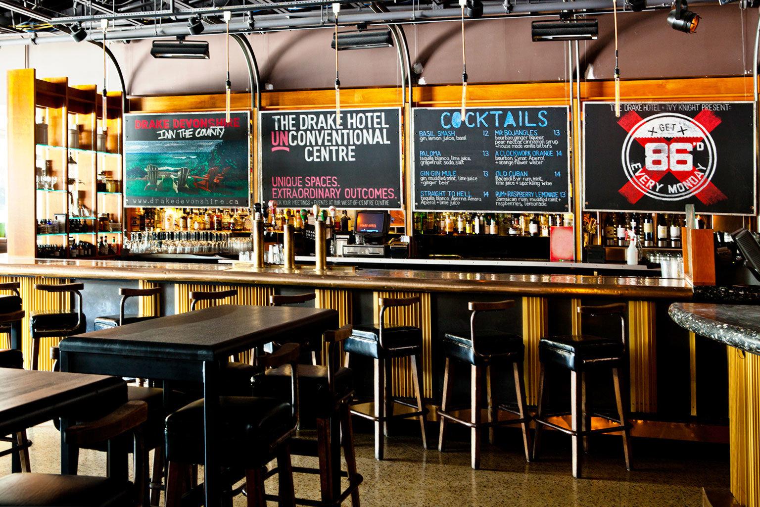 Bar Boutique City Drink Eat Hip Modern restaurant