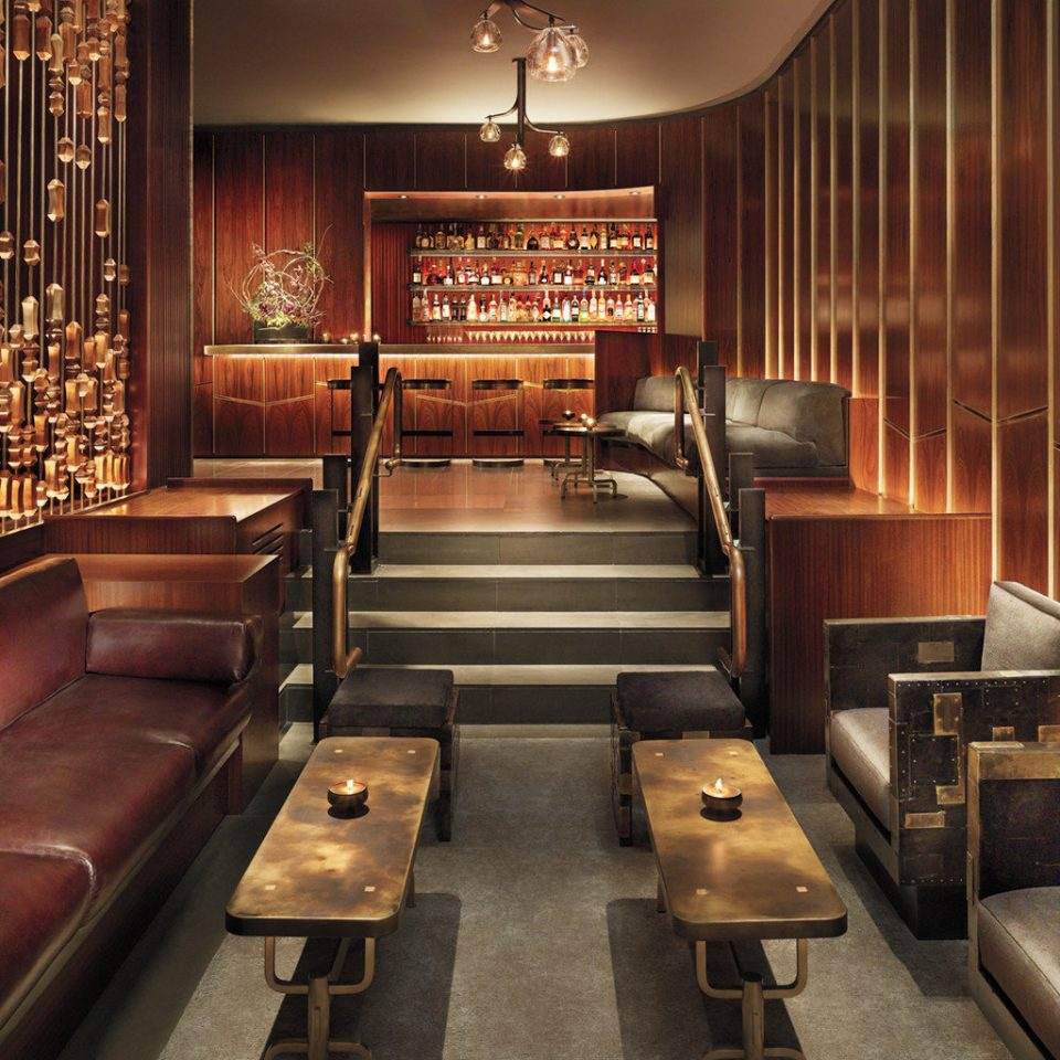 Bar Boutique City Drink Hotels Lounge Luxury Trip Ideas Lobby auditorium restaurant leather pew