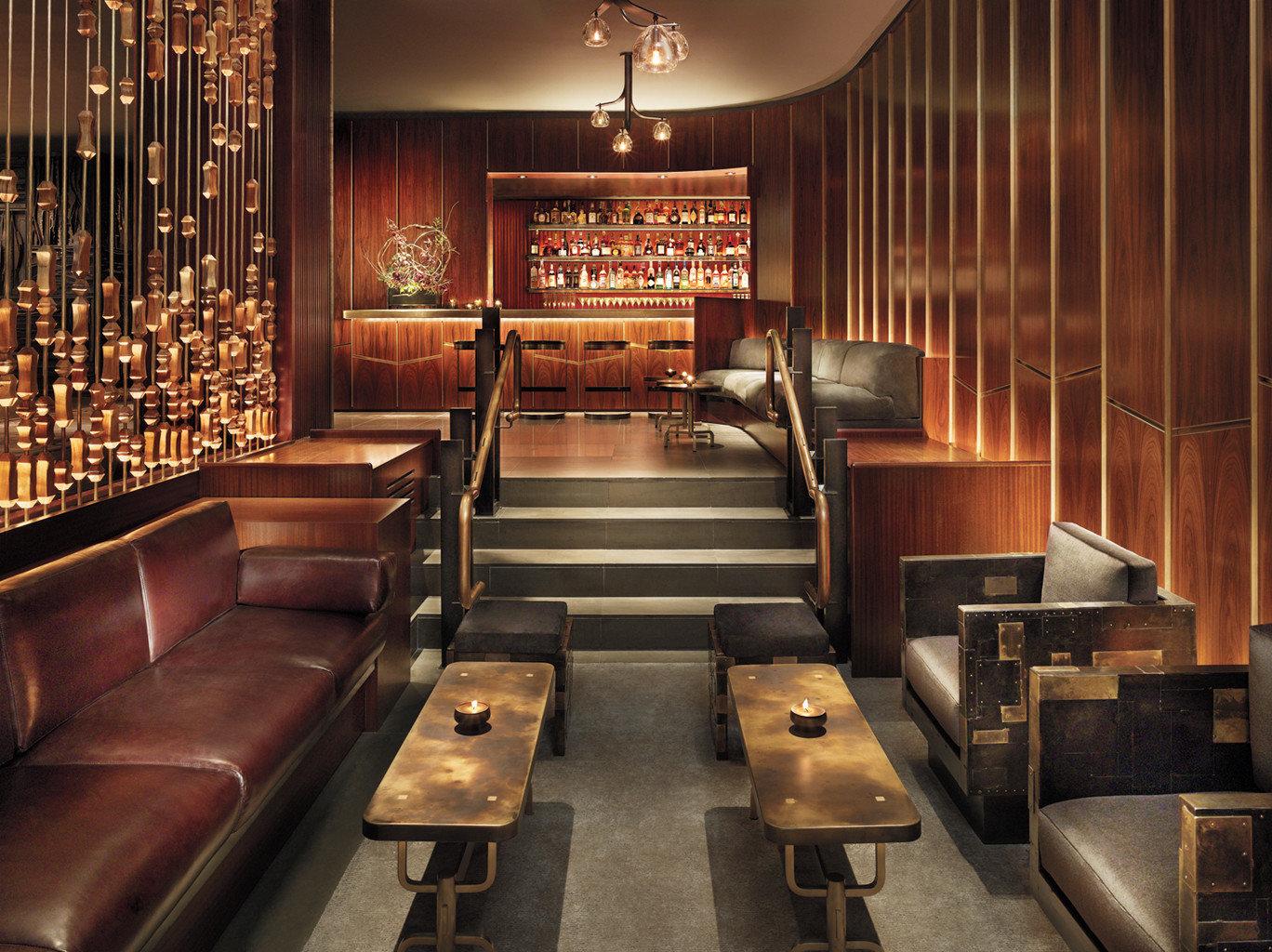 Bar Boutique City Drink Hotels Lounge Luxury Trip Ideas Lobby auditorium restaurant leather pew