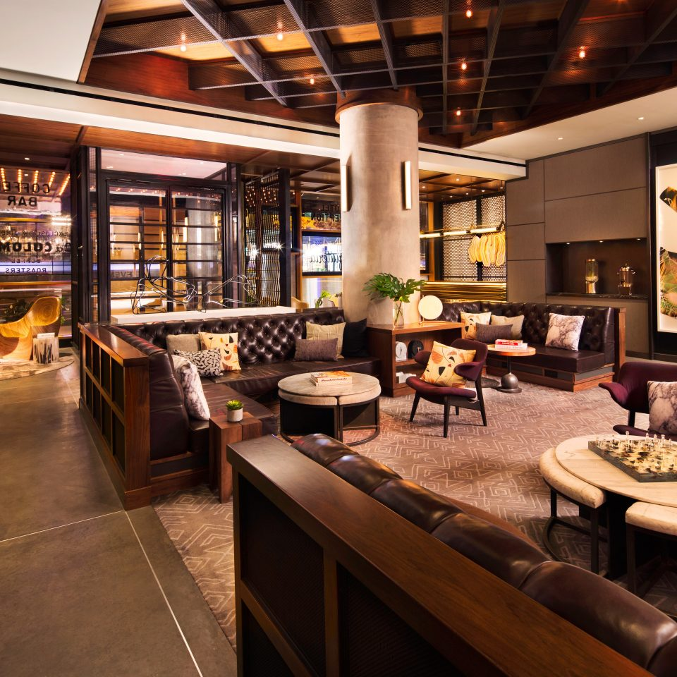 Boutique City Lounge Modern Lobby property home living room restaurant Bar Resort