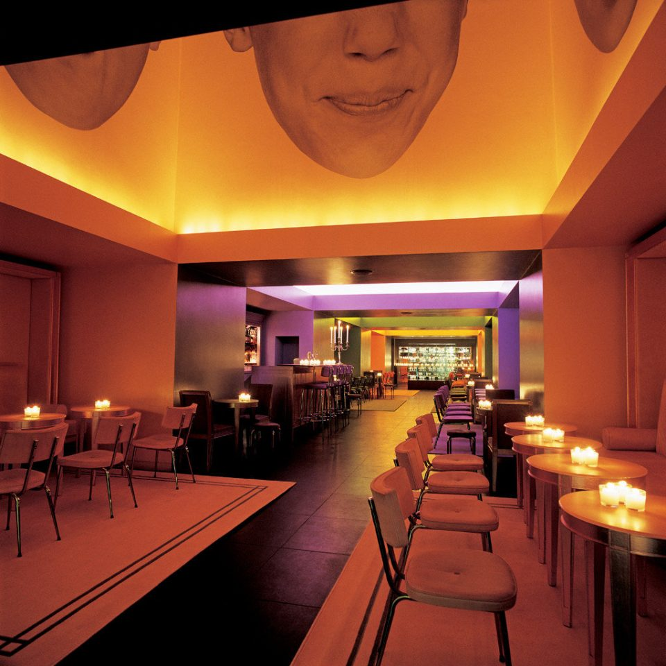 Bar Boutique Dining Drink Eat function hall restaurant long line
