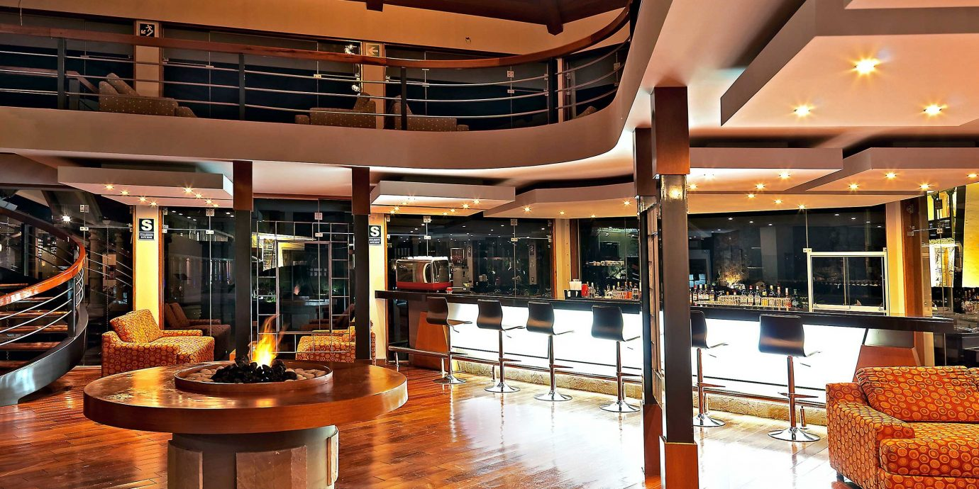 Bar Boutique Dining Drink Eat Firepit Lobby building shopping mall convention center wooden Resort ballroom