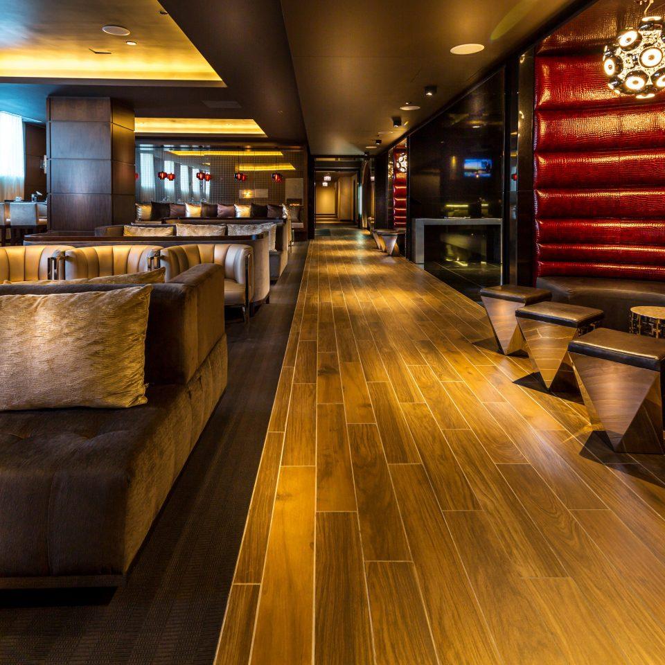 Boutique Hip Lounge Modern building Bar flooring Lobby restaurant