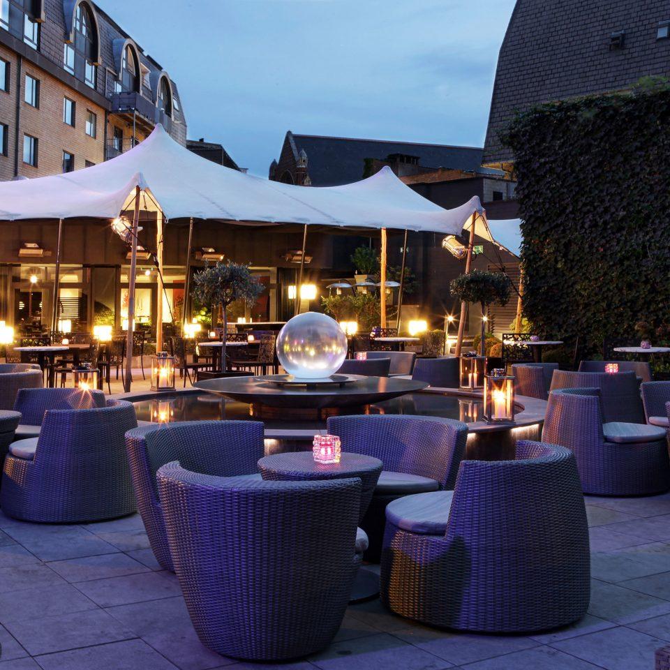 Boutique Hip Lounge Nightlife Outdoors building ground restaurant lighting Resort Bar