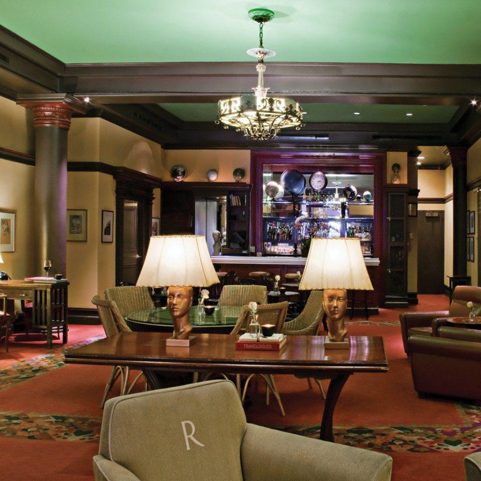 Boutique Historic Lobby Lounge restaurant recreation room living room café Bar function hall