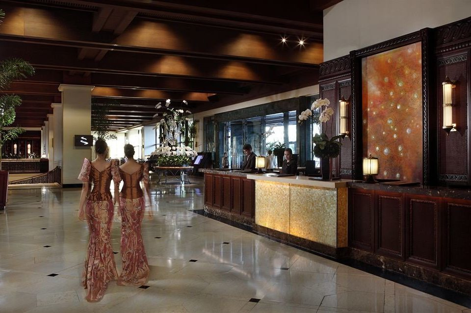 Boutique building Lobby retail restaurant Bar