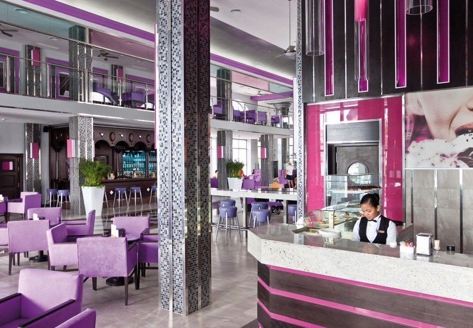 purple Boutique retail shopping mall restaurant shopping Lobby pink Bar