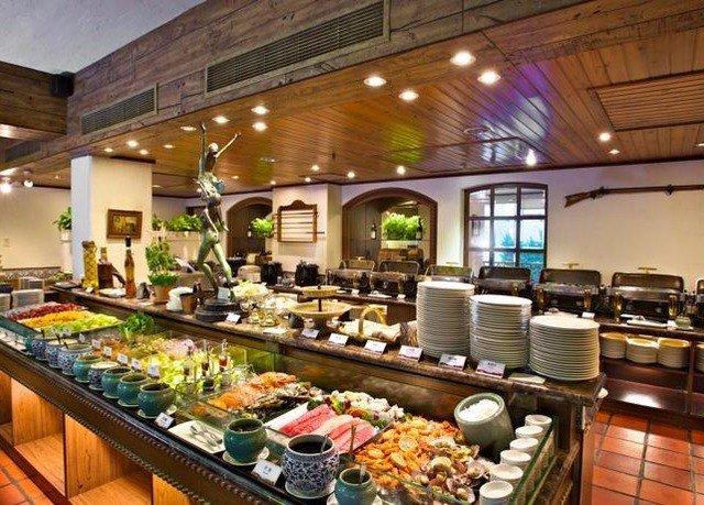 buffet food restaurant brunch counter breakfast Bar