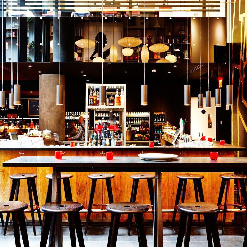Bar Budget City Dining Drink Eat Modern chair wooden restaurant