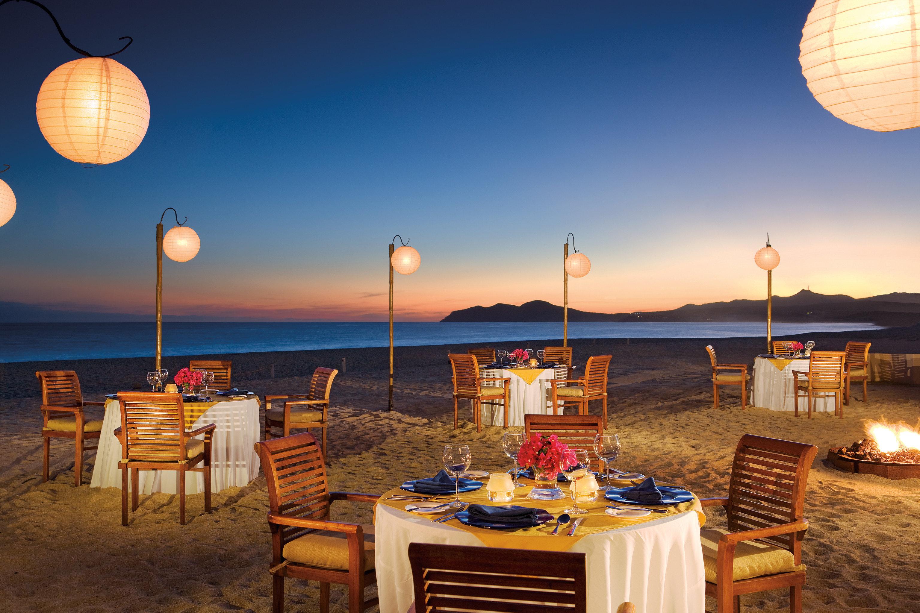 Bar Budget Dining Drink Eat Elegant Hotels Luxury Modern sky chair evening lighting restaurant Resort set Sunset day