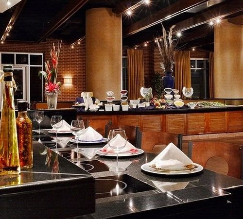 restaurant Bar counter buffet cuisine
