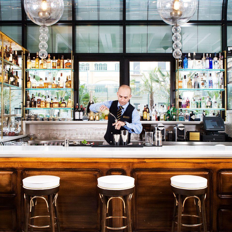 building Bar restaurant grocery store sense counter
