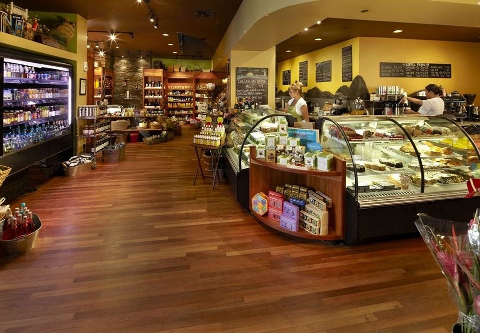 retail building shelf grocery store Bar