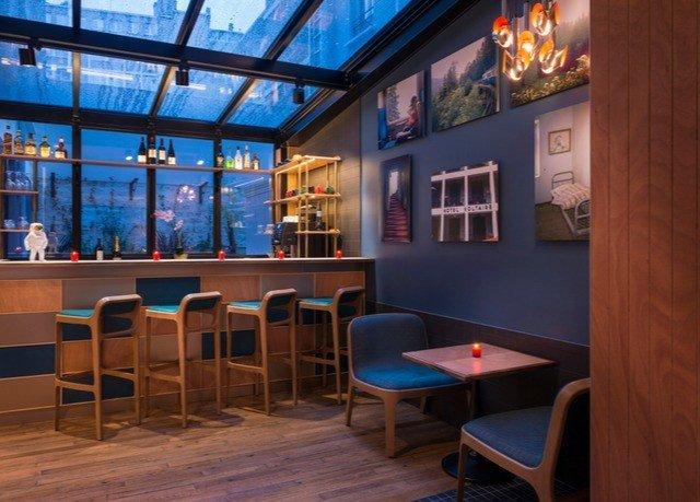 property building restaurant Bar recreation room library