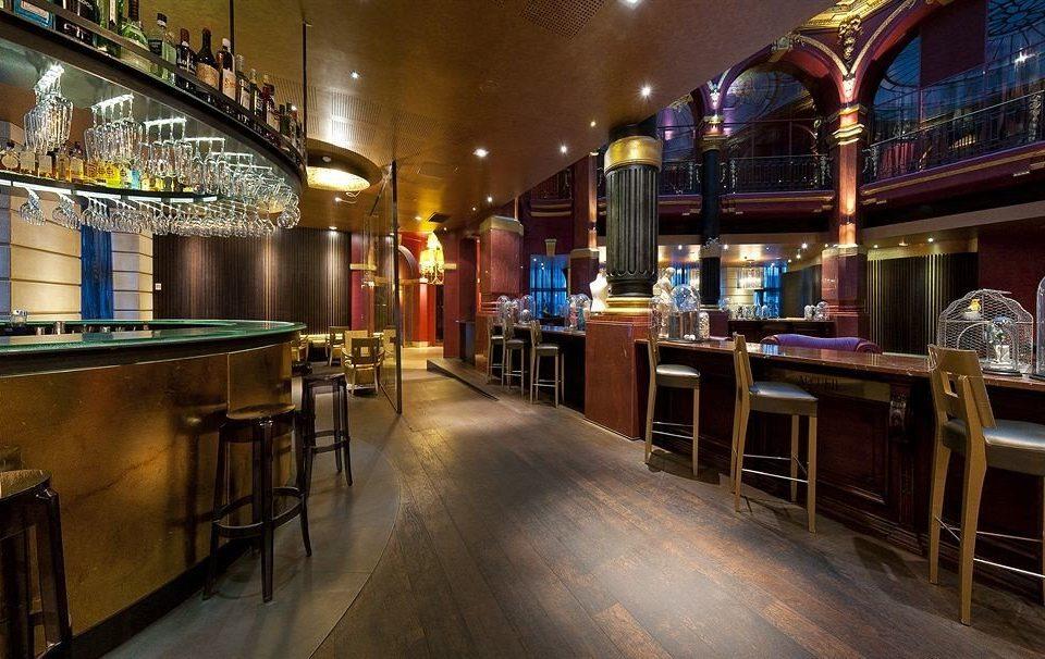 building Bar night restaurant