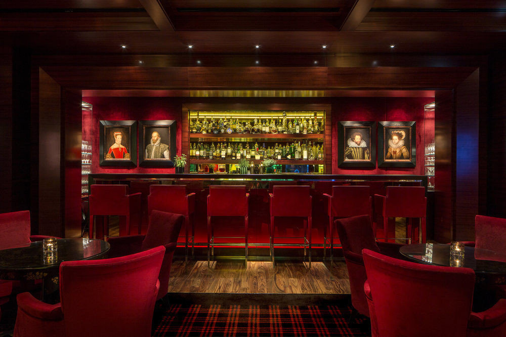 red building Bar nightclub
