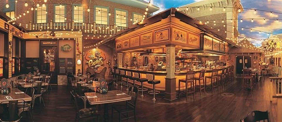 building tavern restaurant Bar