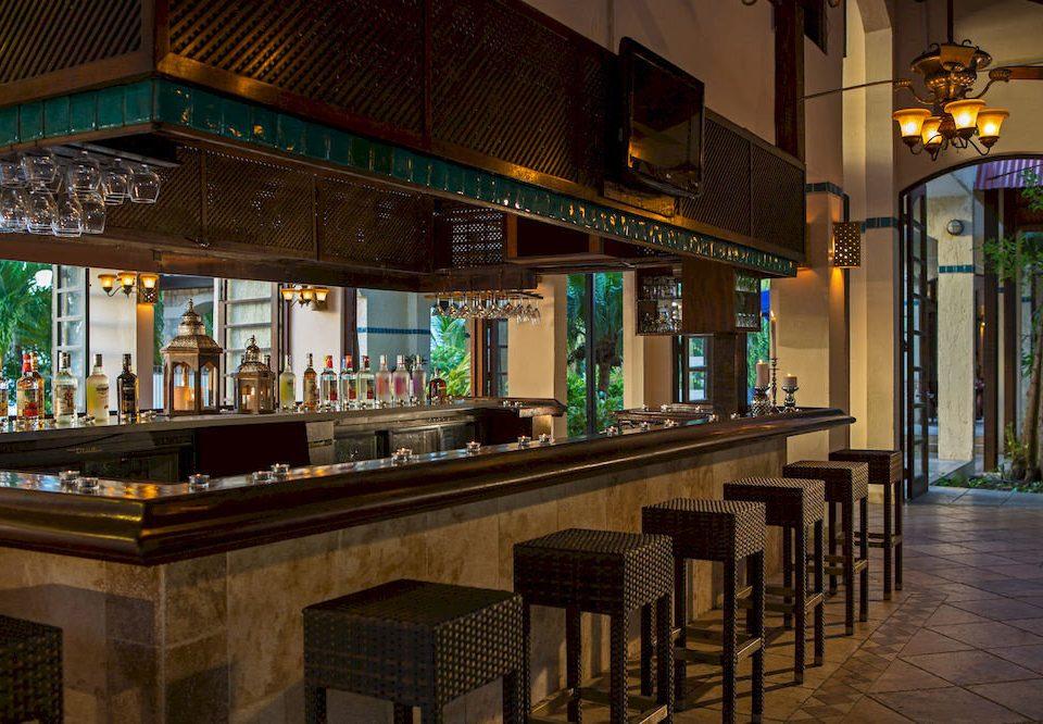 Bar building restaurant tavern