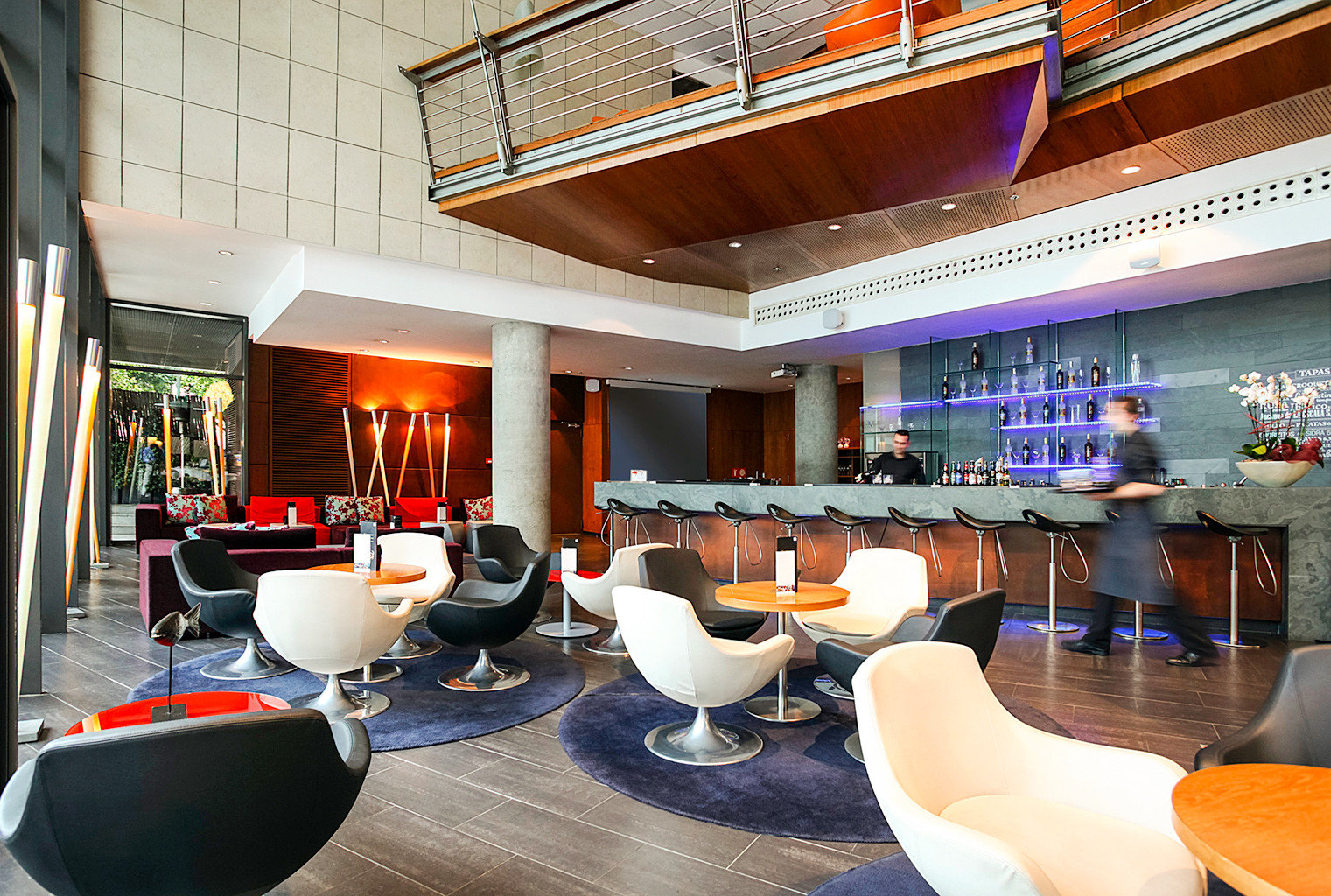Buildings Business City Dining Drink Eat Modern Scenic views Lobby restaurant Bar Resort cluttered