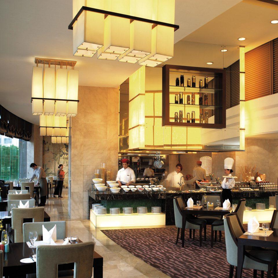 Business City Dining Drink Eat Modern Kitchen restaurant café Bar cuisine counter Resort Island