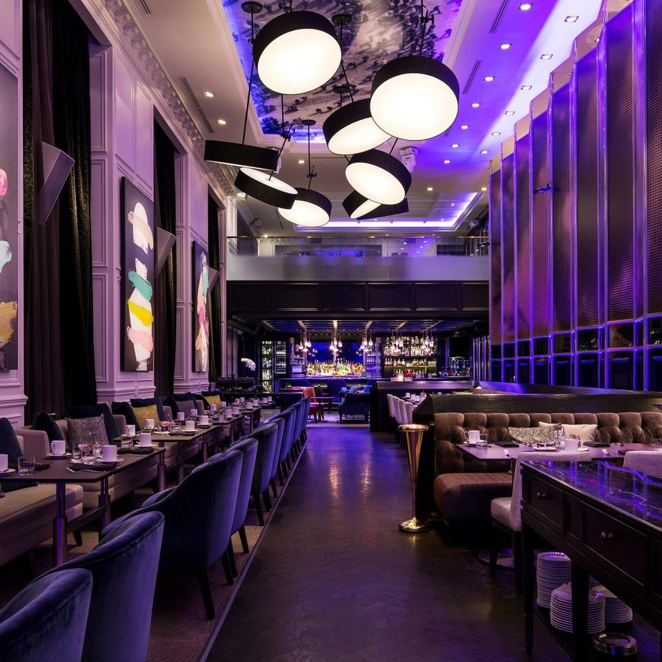 Business City Dining Drink Eat Modern nightclub function hall Bar